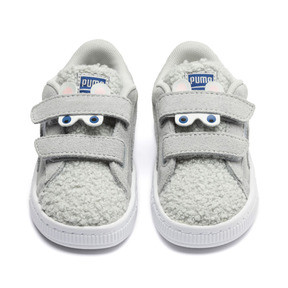 Suede Winter Monster Toddler Shoes