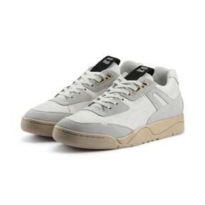 Thumbnail 2 of PUMA x RHUDE Palace Guard Sneakers, Star White-WINDCHIME, medium