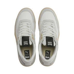 Thumbnail 6 of PUMA x RHUDE Palace Guard Sneakers, Star White-WINDCHIME, medium