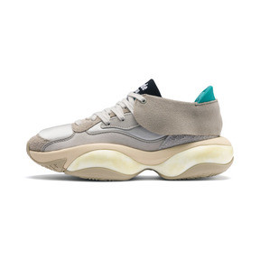 Thumbnail 1 of PUMA x RHUDE Alteration Sneakers, Chinchilla-Whisper White, medium