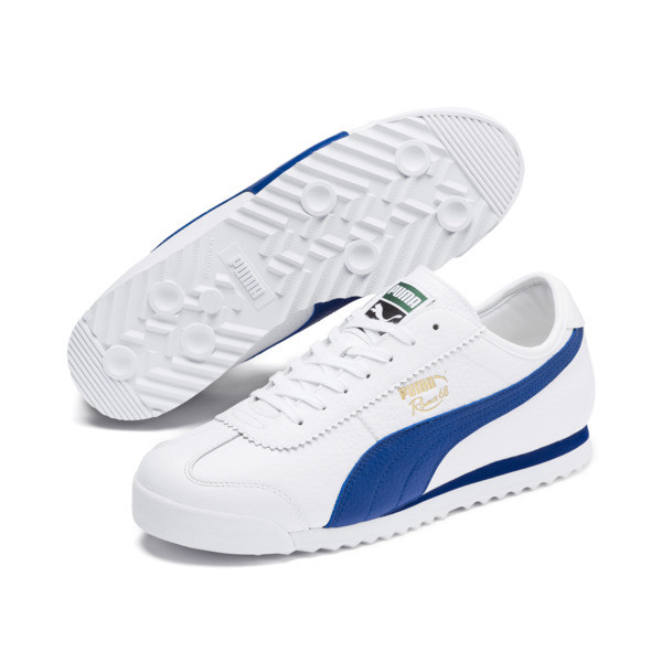Roma '68 Vintage Sneakers, Puma White-Galaxy Blue, large