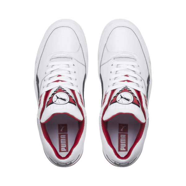 Palace Guard Sneakers, Puma White-Puma Black-red, large