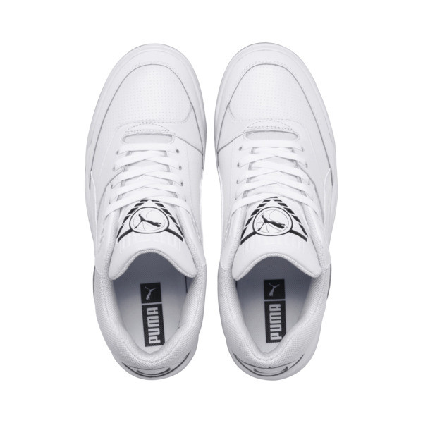 Palace Guard Sneakers, Puma White-Puma White-Gum, large