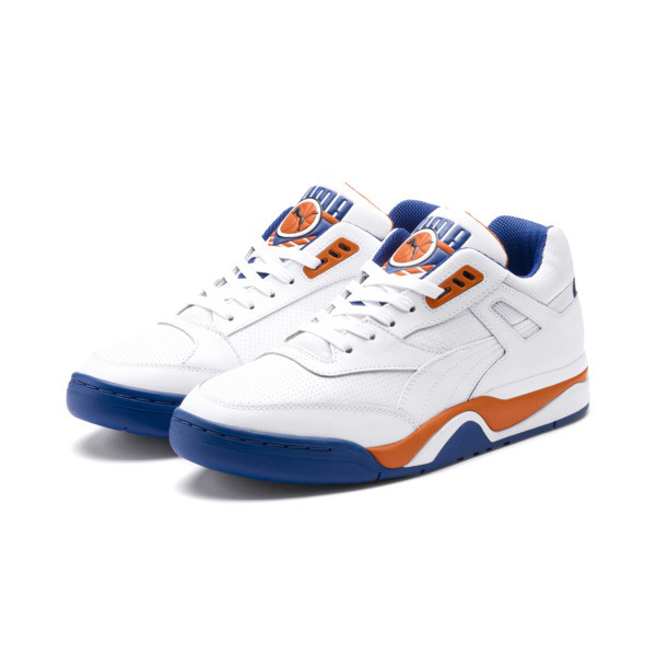 Zapatos deportivos Palace Guard, P White-Jaffa Orange-G Blue, grande