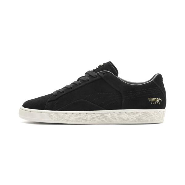 Suede Notch Sneaker