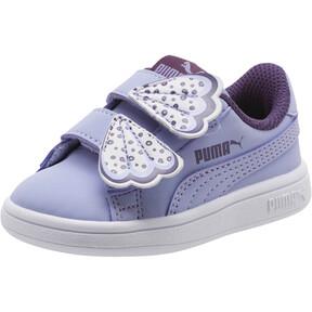 Thumbnail 1 of PUMA Smash v2 Butterfly AC Sneakers INF, Sweet Lavender-Indigo-White, medium