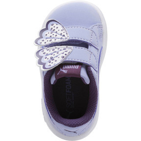 Thumbnail 5 of PUMA Smash v2 Butterfly AC Sneakers INF, Sweet Lavender-Indigo-White, medium