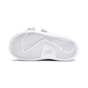Thumbnail 4 of PUMA Smash v2 Butterfly AC Toddler Shoes, Heather-Nrgy Rose-Puma White, medium