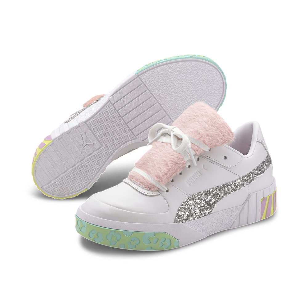 Image PUMA PUMA x SOPHIA WEBSTER Cali Fur Women's Trainers #2