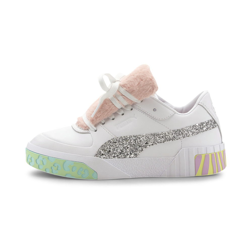 Image PUMA PUMA x SOPHIA WEBSTER Cali Fur Women's Trainers #1