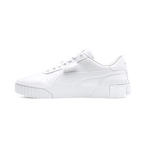 Thumbnail 1 of Cali Patent Sneakers JR, Puma White-Puma White, medium