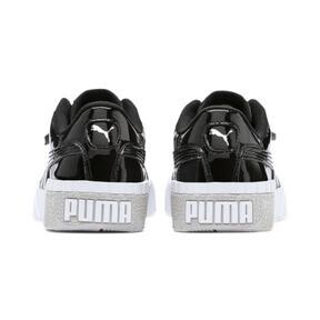 Miniatura 3 de Zapatos deportivos Cali de charol para joven, Puma Black-Puma White, mediano