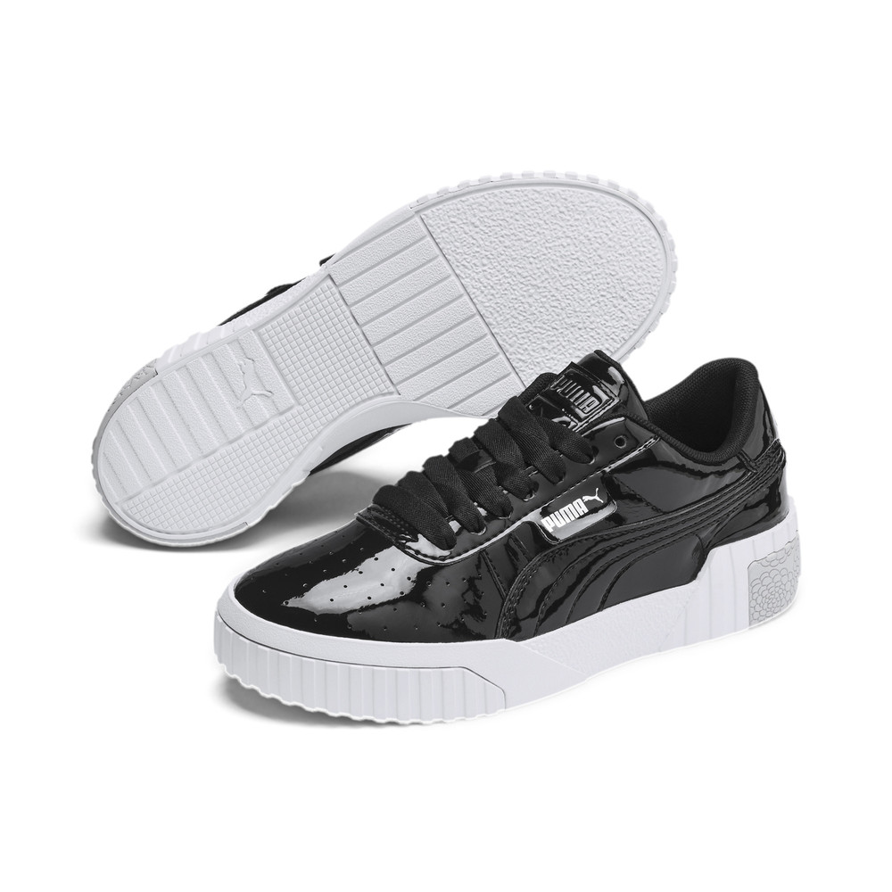 Image PUMA Cali Patent Youth Trainers #2