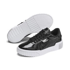 Miniatura 2 de Zapatos deportivos Cali de charol para joven, Puma Black-Puma White, mediano