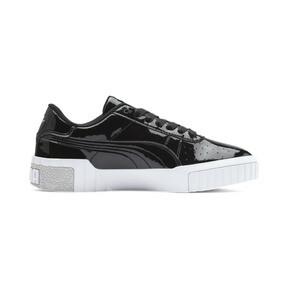Miniatura 5 de Zapatos deportivos Cali de charol para joven, Puma Black-Puma White, mediano