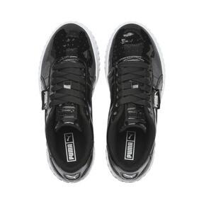 Miniatura 6 de Zapatos deportivos Cali de charol para joven, Puma Black-Puma White, mediano