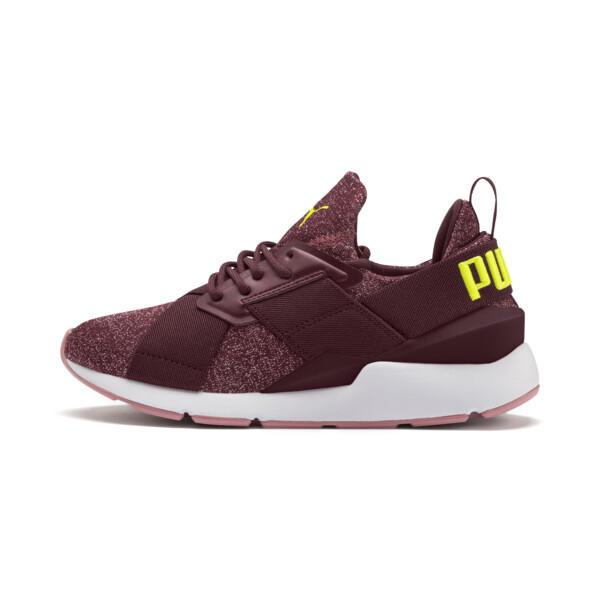 Zapatos deportivosMuse Shiftpara JR, Vineyard Wine-Yellow Alert, grande