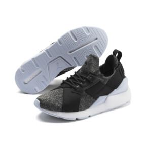Miniatura 2 de Zapatos deportivosMuse Shiftpara JR, Puma Black-Heather, mediano