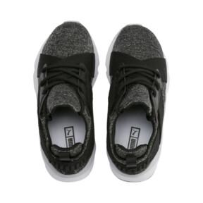 Miniatura 6 de Zapatos Muse Shift para niños pequeños, Puma Black-Heather, mediano