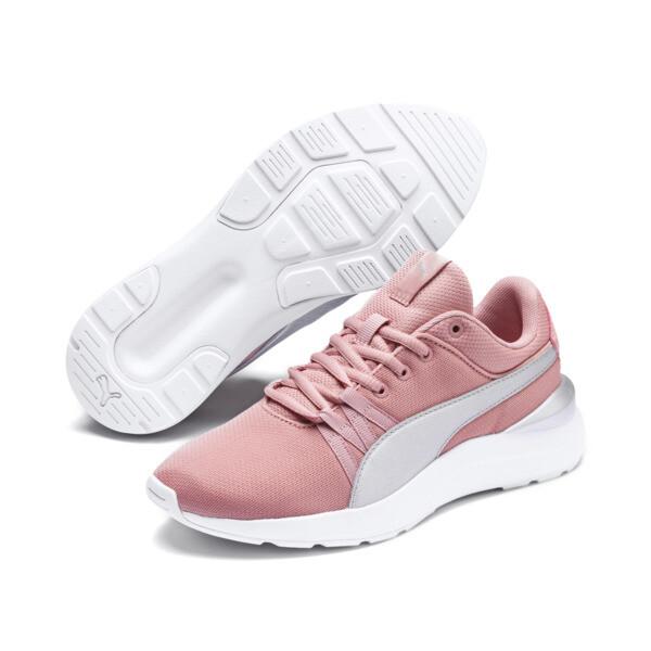 Adela Breathe Sneakers JR, Bridal Rose-Puma Silver, large