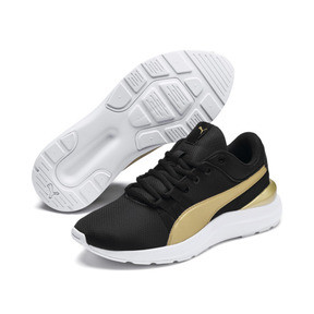 Thumbnail 5 of Adela Breathe Sneakers JR, Puma Black-Puma Team Gold, medium