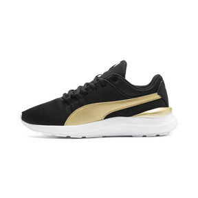 Thumbnail 1 of Adela Breathe Sneakers JR, Puma Black-Puma Team Gold, medium