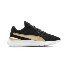 Thumbnail 4 of Adela Breathe Sneakers JR, Puma Black-Puma Team Gold, medium