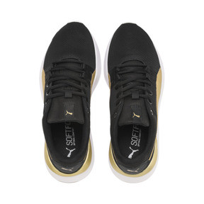 Thumbnail 6 of Adela Breathe Sneakers JR, Puma Black-Puma Team Gold, medium