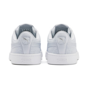 Thumbnail 4 of PUMA Vikky v2 Wildcat Women's Sneakers, Heather-Puma Silver-White, medium