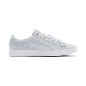 Thumbnail 6 of PUMA Vikky v2 Wildcat Women's Sneakers, Heather-Puma Silver-White, medium