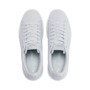 Thumbnail 7 of PUMA Vikky v2 Wildcat Women's Sneakers, Heather-Puma Silver-White, medium