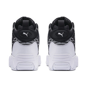 Thumbnail 3 of Source Mid Bracket Sneakers, Puma Black-Puma White, medium
