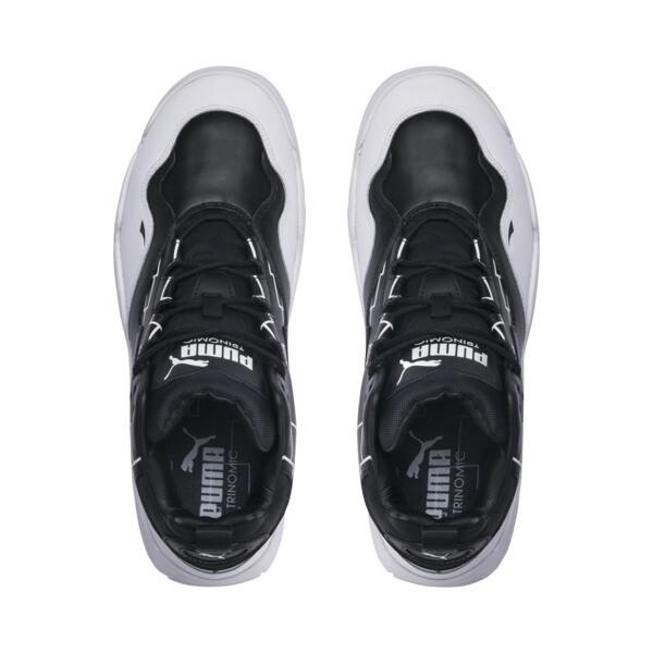 Source Mid Bracket Sneakers, Puma Black-Puma White, large