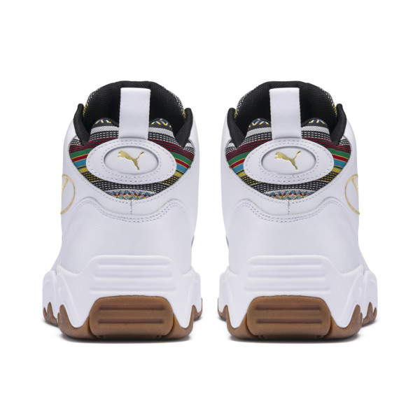 Zapatos deportivos Source Cinco de Mayo de media caña, Puma White-Gum, grande