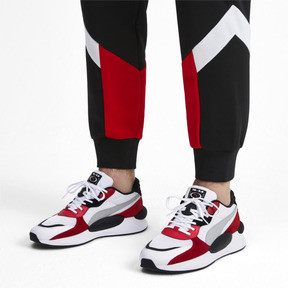 Thumbnail 2 of RS 9.8 Space Trainers, Puma White-High Risk Red, medium