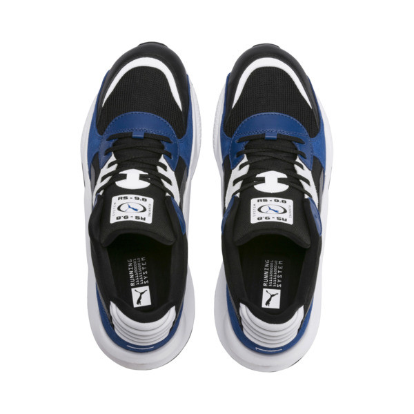 RS 9.8 Space Sneakers, Puma Black-Galaxy Blue, large