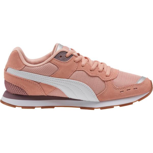 Vista Women's Sneakers, Peach Bud-White-Elderberry, large