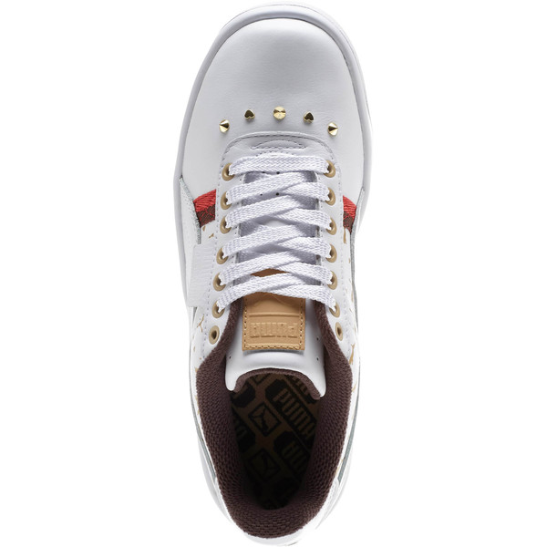 California Stud Women's Sneakers, Puma White, large