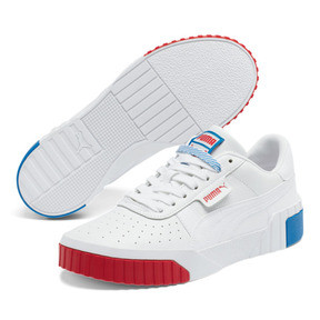 Thumbnail 2 of Cali RWB Women's Sneakers, P Wht-Hi Risk R-Indigo Bunt, medium
