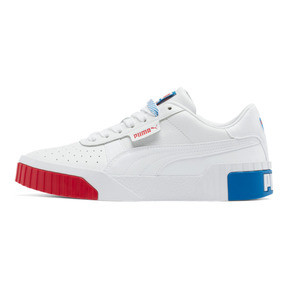 Thumbnail 1 of Cali RWB Women's Sneakers, P Wht-Hi Risk R-Indigo Bunt, medium