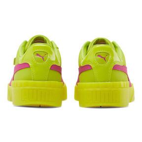 Thumbnail 3 of Cali 90 Women's Sneakers, Limepunch-Fuchsia Purple, medium