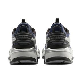 Thumbnail 3 of PUMA X MOTOROLA RS-X Tech Trainers, Puma Silver-Sodalite Blue, medium