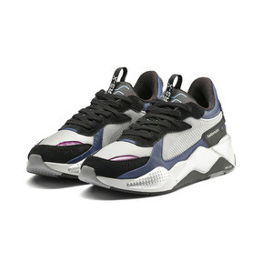 Thumbnail 2 of PUMA X MOTOROLA RS-X Tech Trainers, Puma Silver-Sodalite Blue, medium