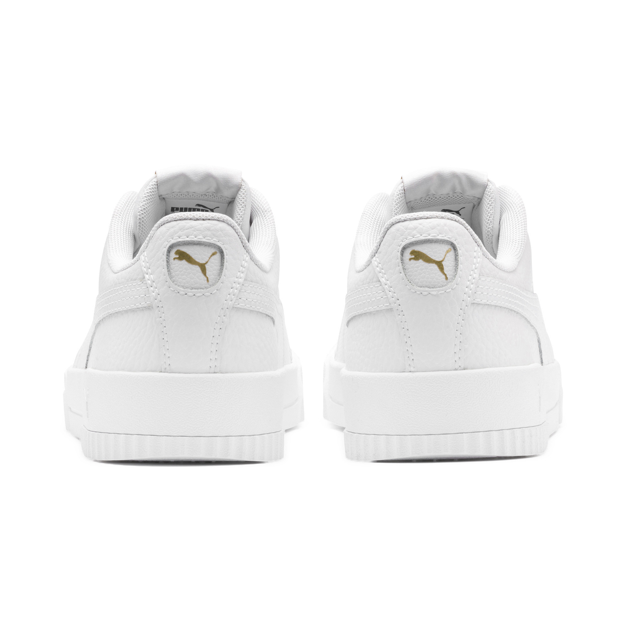 PUMA-Women-039-s-Carina-Lux-Leather-Sneakers thumbnail 3