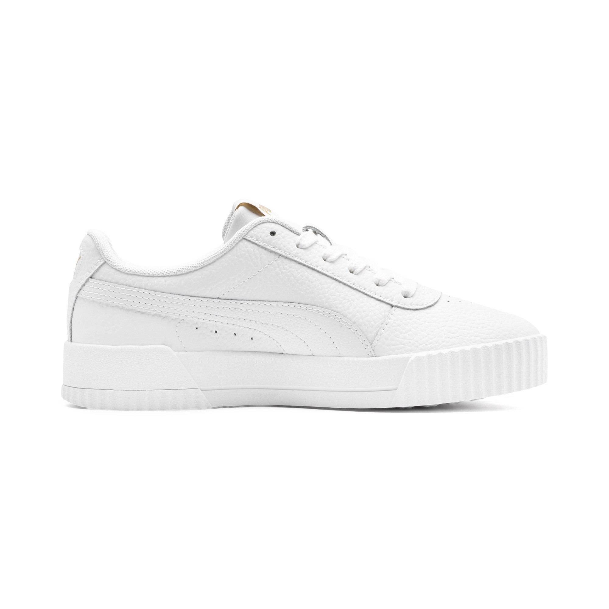PUMA-Women-039-s-Carina-Lux-Leather-Sneakers thumbnail 7