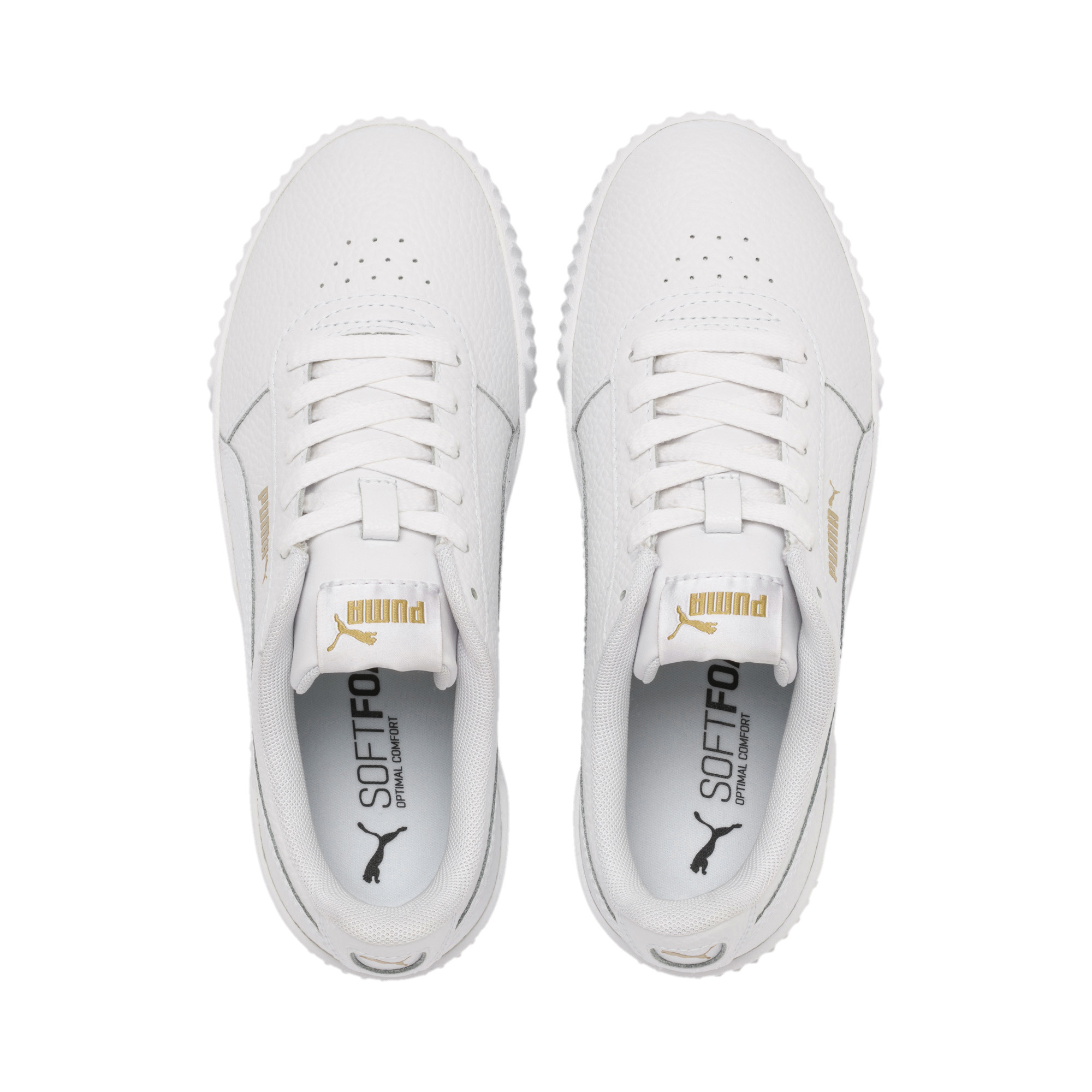 PUMA-Women-039-s-Carina-Lux-Leather-Sneakers thumbnail 8
