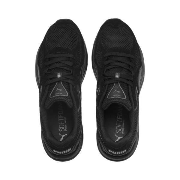 Axis Plus Suede Sneakers, Black-Black-Asphalt, large
