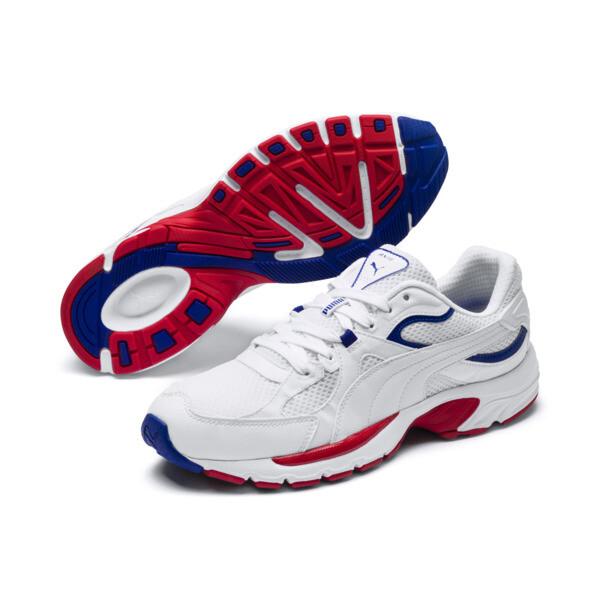 Axis Plus jaren 90 sneakers, Puma White-Puma White, large