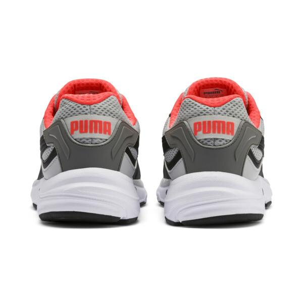 Axis Plus jaren 90 sneakers, HRise-Blk-CASTLERCK-NRed-Wht, large