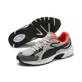 Thumbnail 3 van Axis Plus jaren 90 sneakers, HRise-Blk-CASTLERCK-NRed-Wht, medium